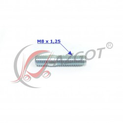 Śruba Dwustronna M8x22-8.8