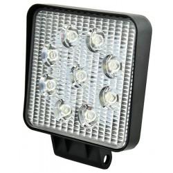 Lampa Led Kwadrat 10-30V 9x3W