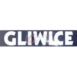 Naklejka Gliwice