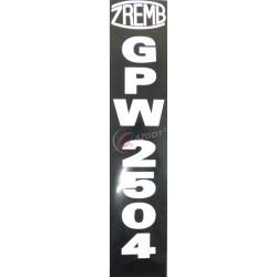 NAKLEJKA GPW 2504
