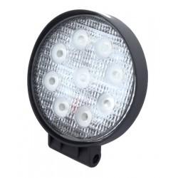 Lampa Led 9x3W Okrągła